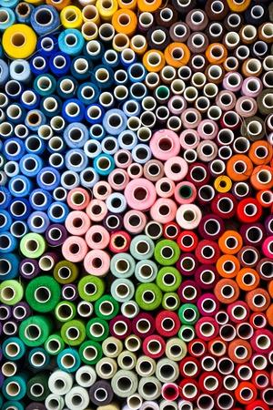 a lot of thread. art soft focus Imagens