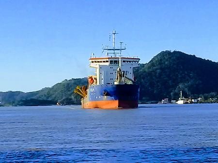 dredging: Draga, Rio Itajai-Açu, Itajai -SC