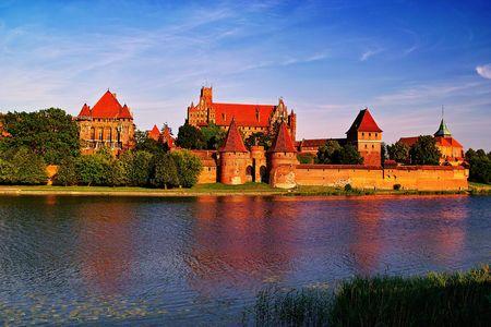 teutonic: Malbork Castle's dell'Ordine Teutonico