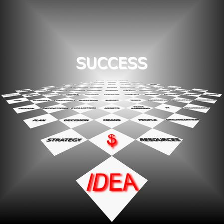 Strategy of success photo