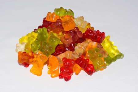 gummie: gummy bears Stock Photo