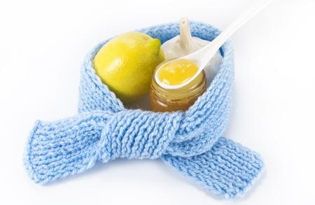 gripe: curación natural Foto de archivo