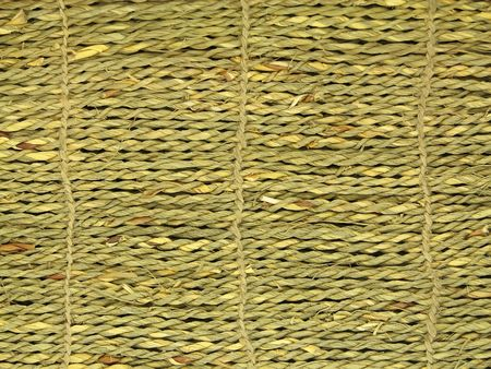 The texture of natural mat. Stock Photo - 5136195