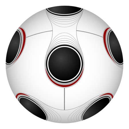 uefa: Vector Image des Fu�balls. Neuer Standard. Illustration