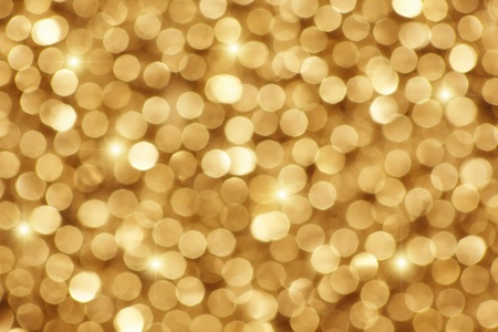 Abstract golden holiday background with stars. (Easy to change color with the help of the color tone.) Archivio Fotografico