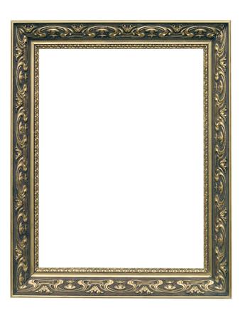 art nouveau frame: Golden Art Nouveau Frame