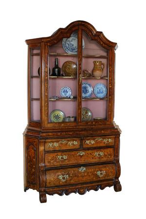 marqueteria: Marquetería de madera vieja hermosa de la oficina