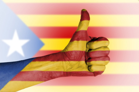 independence referendum is expected to be held in Catalonia in September 2017 Stock Photo
