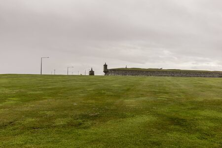 Fort George - Historic 18th Century Military Fortress near Inverness Archivio Fotografico - 139924021