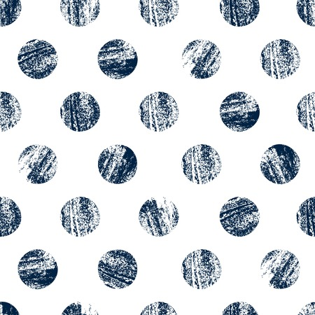 scratched: Geometric background with scratched circles. Monochrome seamless pattern. Vector illustration. Can be used for wallpaper, pattern fills, web page background,surface textures. Illustration
