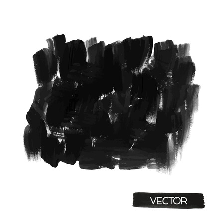 smears: Black brush smears. Abstract stylish watercolor background.