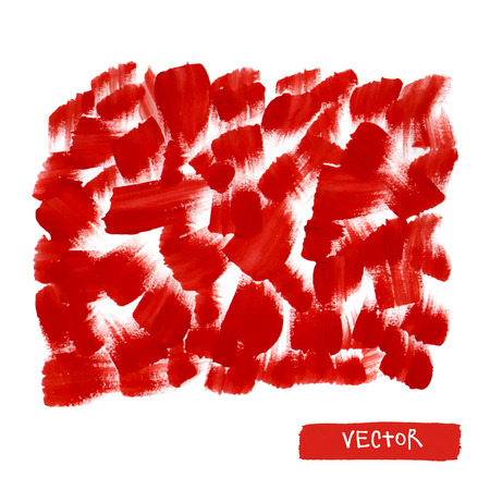 smears: Red brush smears. Abstract stylish watercolor background.