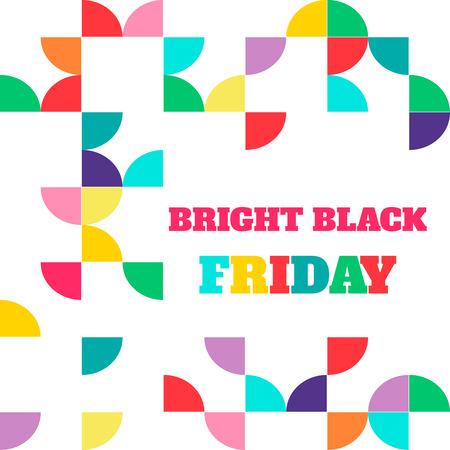 sell out: Black friday sale. Vector illustration.  Illustration