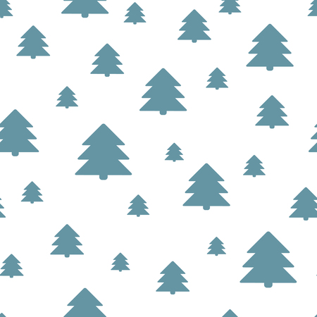 copied: Seamless Christmas pattern. New Year theme. Background can be copied without any seams. Vector illustration. Winter endless texture can be used for printing onto fabric and paper or scrap booking.