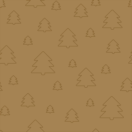 copied: Seamless Christmas pattern. New Year theme. Backgrounds can be copied without any seams. Vector illustration. Winter endless texture can be used for printing onto fabric and paper or scrap booking.