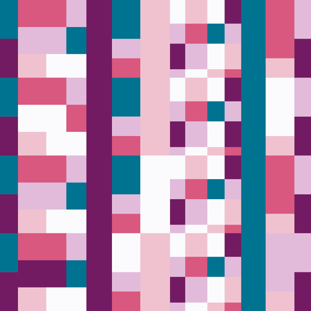 copied: Vector seamless pattern for web design, prints etc.. Modern stylish texture. Repeating geometric background with rectangkes in bright colors can be copied without any seams.