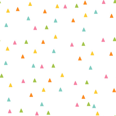 Seamless triangle pattern.  background illustration. Geometric abstract texture