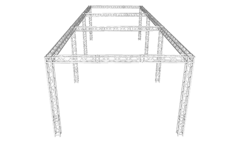 metal structure: Truss System