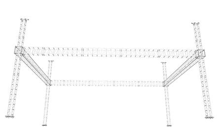 steel construction: Truss System