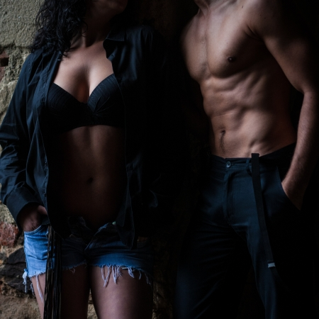 sexy men s and women s body photo
