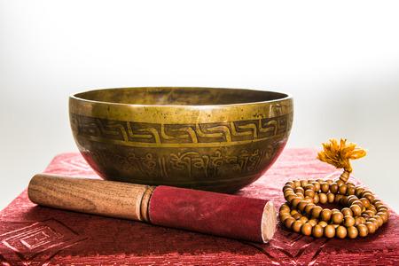 tibetan bowl Stock Photo - 25478828