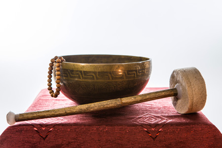 tibetan bowl Stock Photo - 25478831