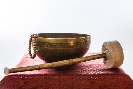 tibetan bowl Stock Photo - 25478831