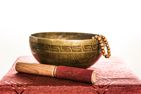 tibetan bowl Stock Photo - 25478833