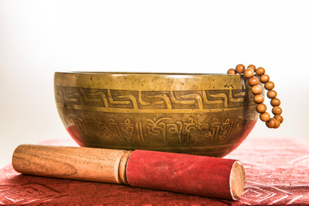 tibetan bowl Stock Photo - 25478835