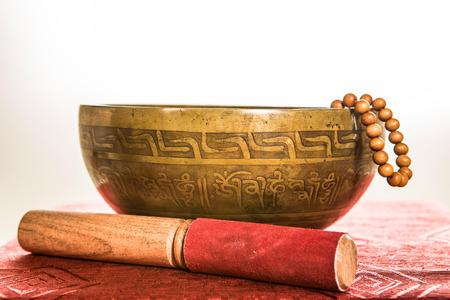 tibetan bowl Stock Photo - 25478835