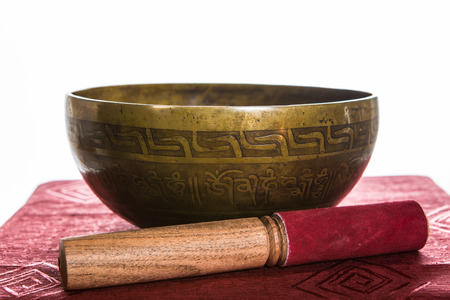 tibetan bowl Stock Photo - 25478840