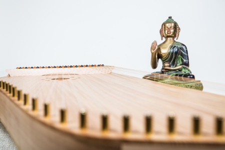 kantele with Buddha photo