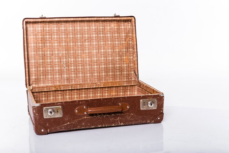 old suitcase  photo