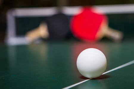 ping pong: tenis de mesa Foto de archivo