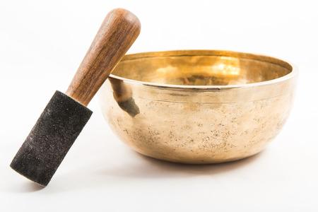 tibetan bowl Imagens - 27230597