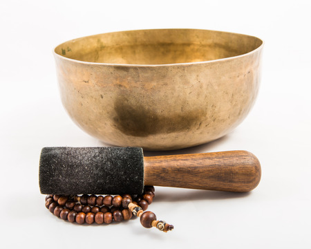tibetan bowl  Stock Photo - 27230595