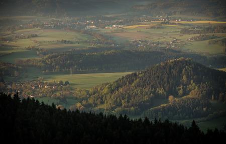 inverse: morning inverse landscape