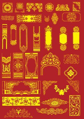 China Elementos Vector Foto de archivo - 32781700