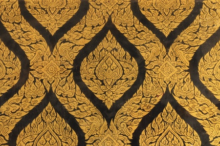gold texture at Wat Phra Kaew,Temple of the Emerald, Bangkok, Thailand Stock Photo - 8704191