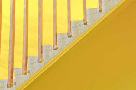 Yellow ladder background Stock Photo - 8917419