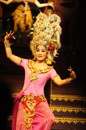 Nong Nooch Garden,  Thailand - May 5,2011 -  Thai dance culture Stock Photo - 9547953