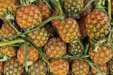 Pile of pineapple