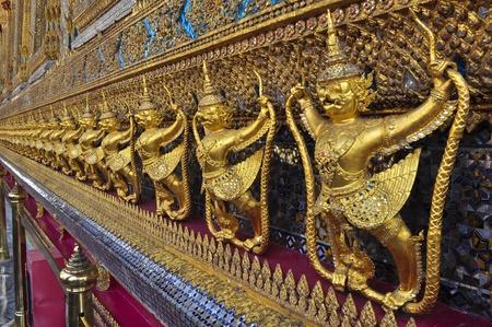 The Garuda at Wat Phra Kaew, The Emerald Buddha temple, Bangkok, Thailand photo
