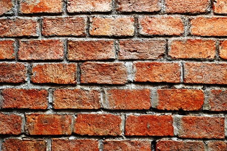 cement wall: ancient brick wall