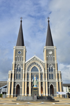 The cathedral of the immaculate conception, Chanthaburi, Thailand photo