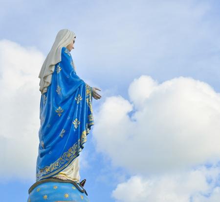 vierge marie: Statue de la Vierge Marie