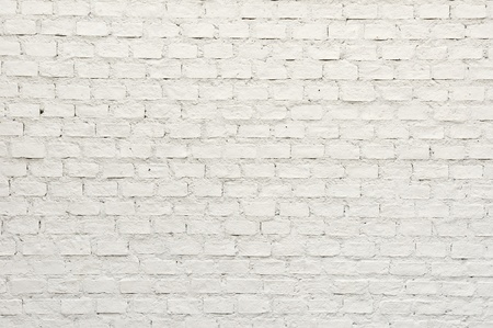 White brick wall stock Standard-Bild