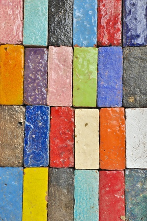 Colorful Brick Stock Photo - 10426962