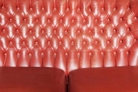 Texture of vintage sofa photo