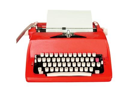 typewriter: M�quina de escribir Vintage aislados